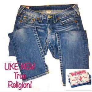 • TRUE RELIGION   LIKE NEW   Skinny Denim •